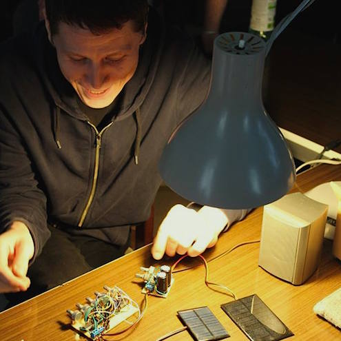 Peter Marton is an experimental sound artist, instrument builder, and synth building instructor at Pecs University. He has played widely at festivals, technivals, exhibitions and clubs throughout Europe.
