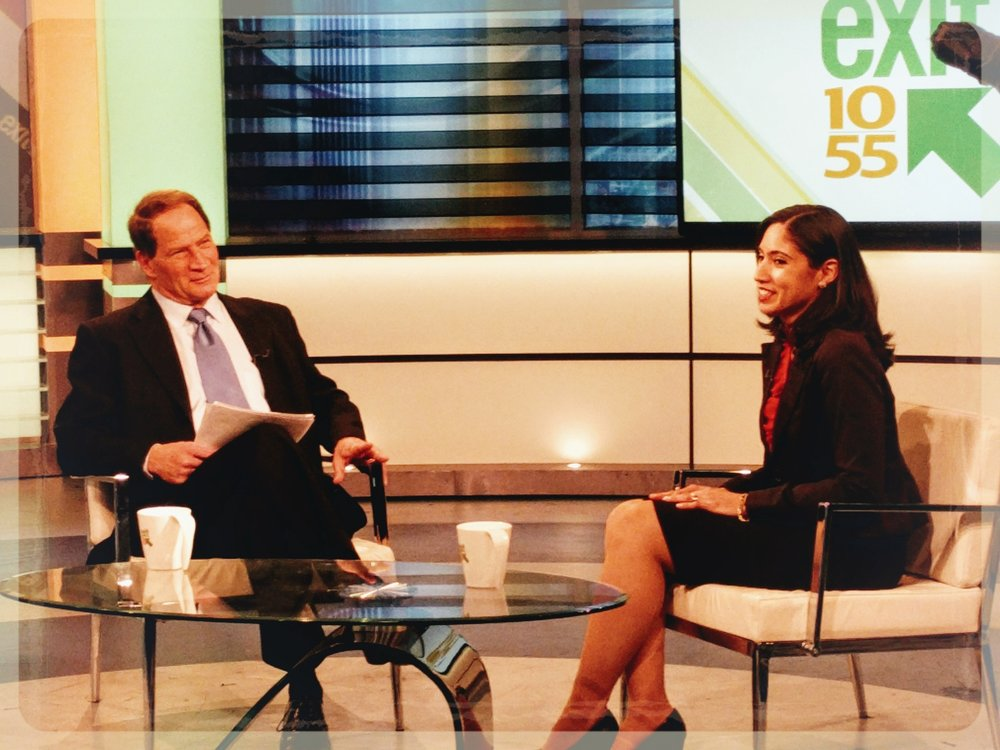 - 2/12/17: CLA President Keiko Cervantes-Ospina discusses the need for low-cost legal services on Long Island on CBS New York's Exit 10/55