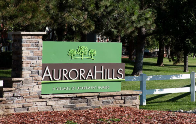 AURORA,CO ·600 UNITS MULTI-FAMILY · 1972 Aurora Hills is a 600-unit apartment community located just west of I-225 and 6th Avenue in Aurora, Colorado. The property is Oak Coast Properties' most recent acquisition in 2017. Aurora Hills offers its residents many amenities including playgrounds, a heated swimming pool, dog park, sports courts, and a fitness center. The property was built in 1972, has an in-place plan to potentially add an additional 96 units, and impressive renovation upside.