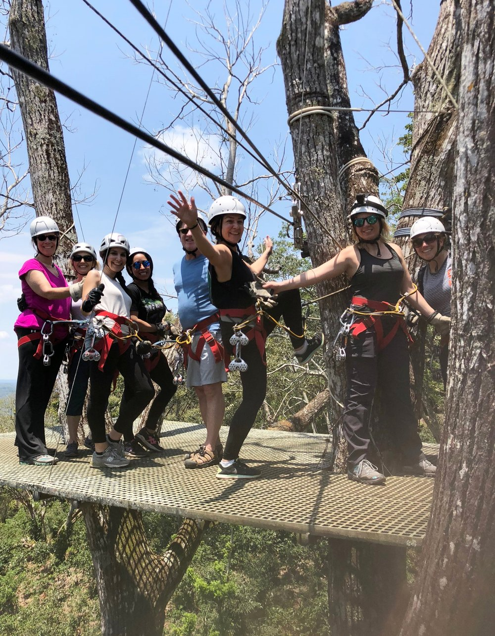 Day 2: Mombacho zipline canopy tour