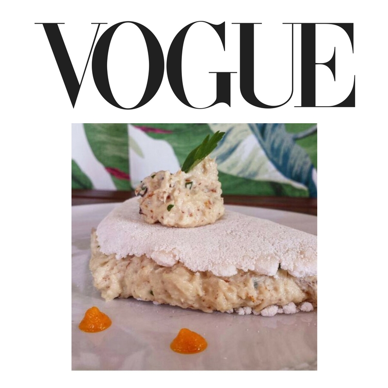 VOGUE: AUG. 2016    Healthy, Gluten-Free Tapioca Crepes Are Here