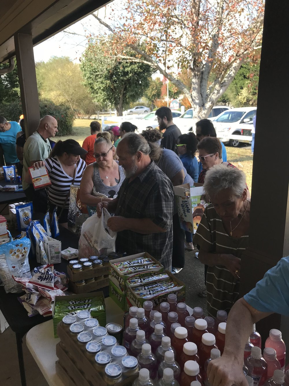 Monthly Food Giveaway at La Costa MHP