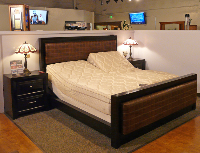 Many adjustable bed choices
