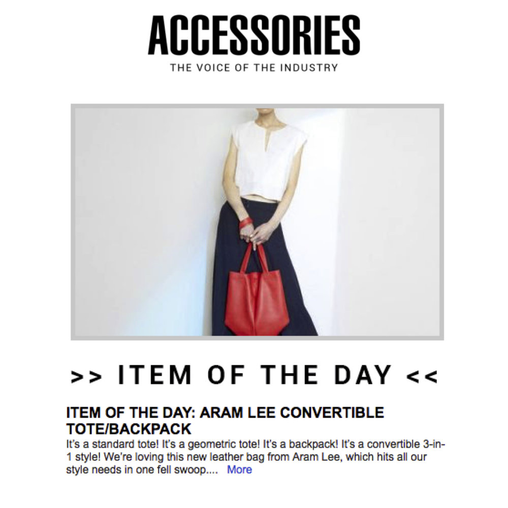 Mari Convertible Bag - ACCESSORIES MAGAZINE