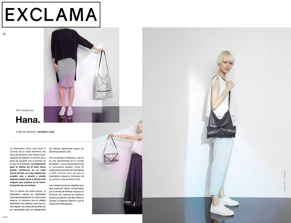 Hana Convertible Bag - EXCLAMA MAGAZINE