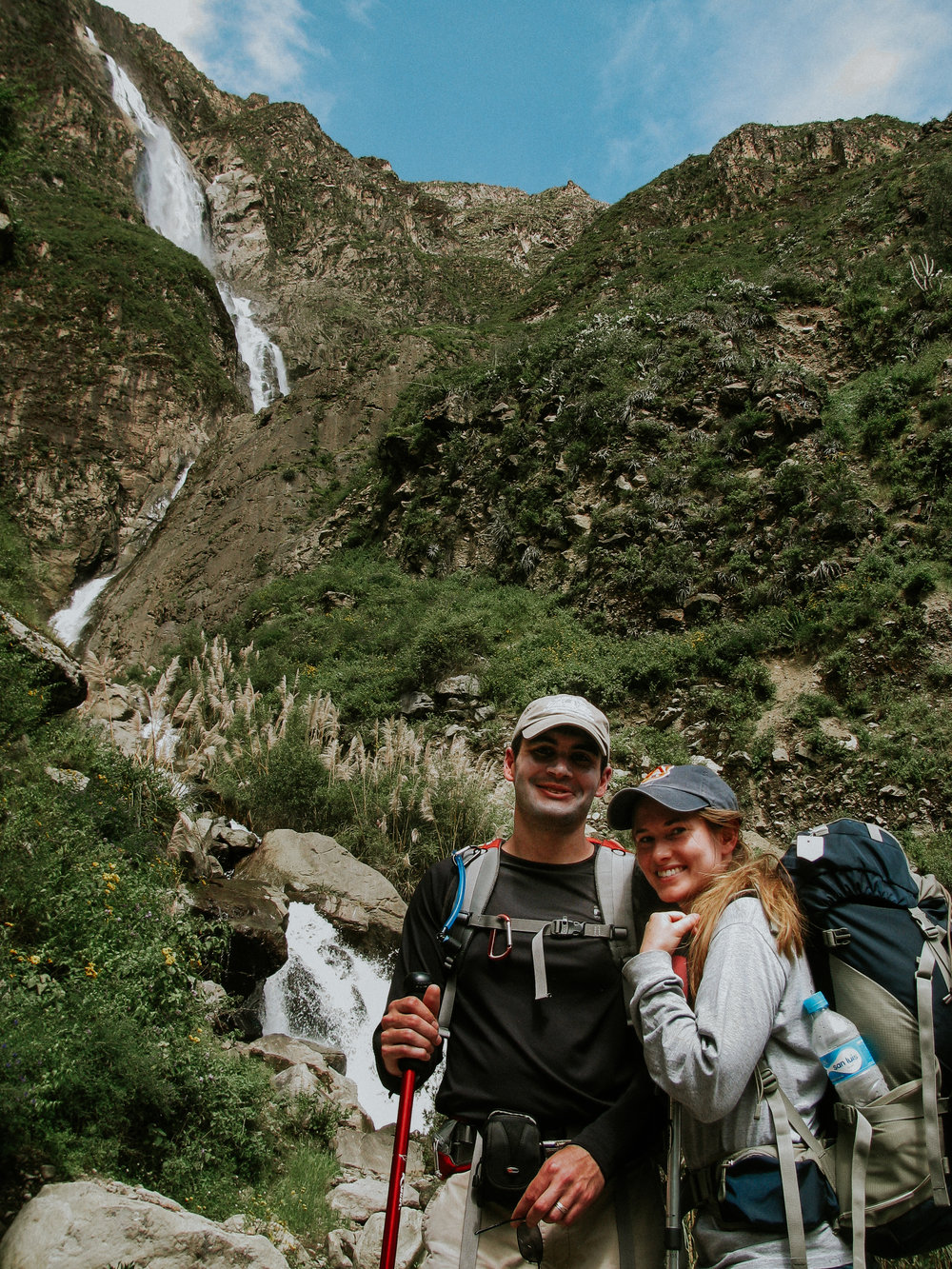 Hiking Adventure Elopement. Colca Canyon in Peru