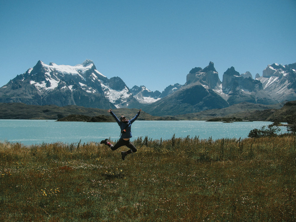 Whitney living into her values....Patagonia, Chile. Adventure Elopement