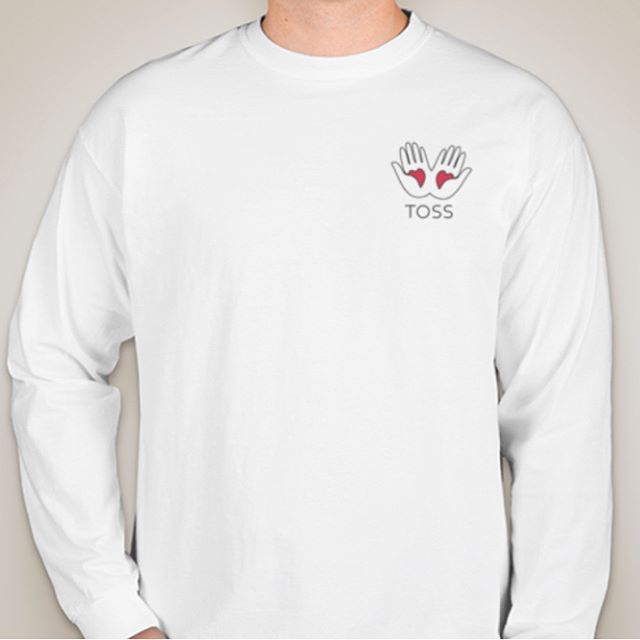 New TOSS shirts available!! Long sleeves are $25 and the short sleeves are $20. Buy them now on our website! Visit link in bio!