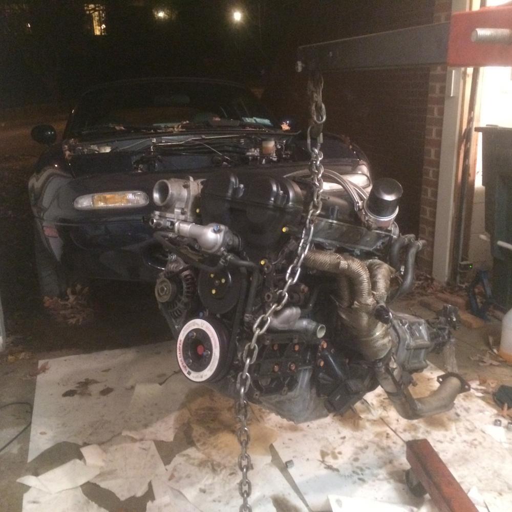 MIATA ENGINE REBUILD