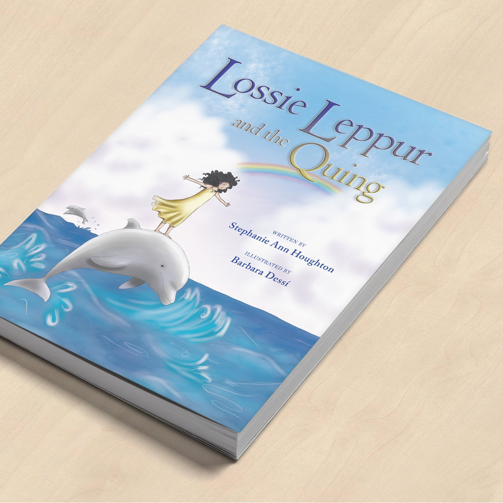 Lossie Leppur and the Quing (Book Design)