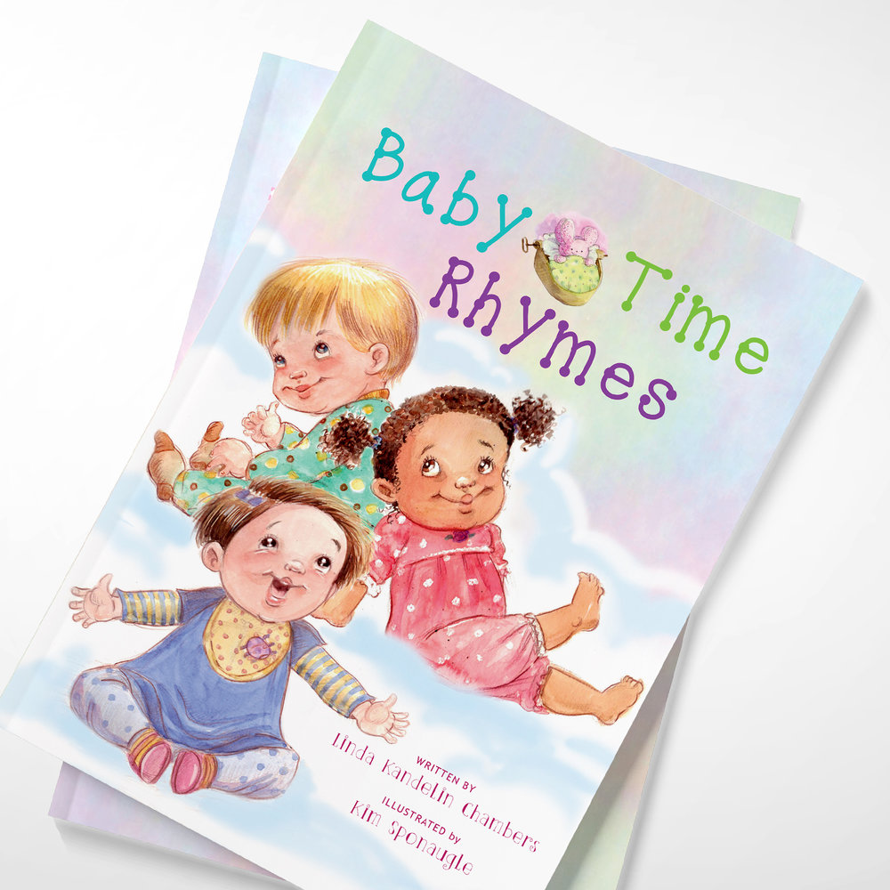 Baby Time Rhymes (Book Design)