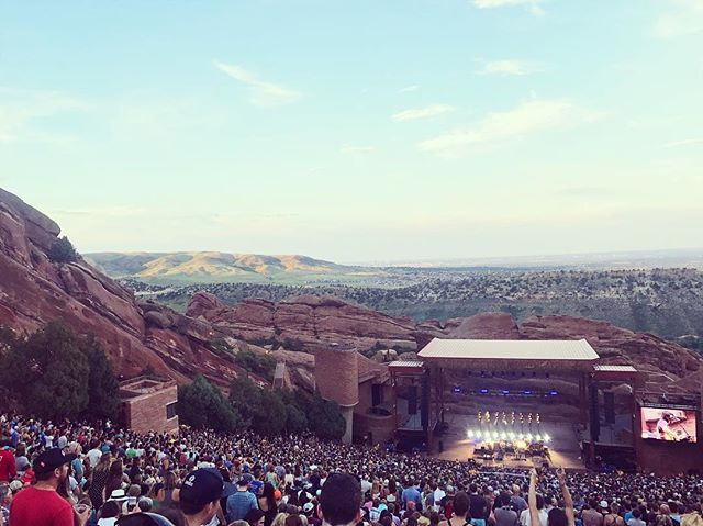 #tbt to my first show at Red Rocks - like a spiritual experience, this place is unreal