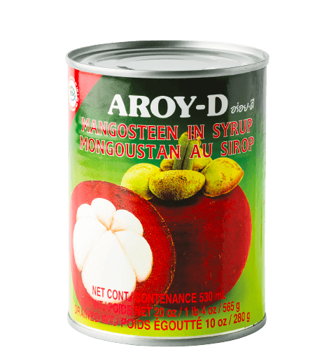 Aroy-D Mangosteen In Syrup — Hong Thai Foods Corp