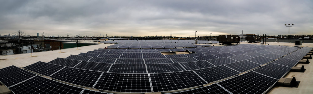 OVATION's 80,000 square foot green facility is powered entirely through solar energy