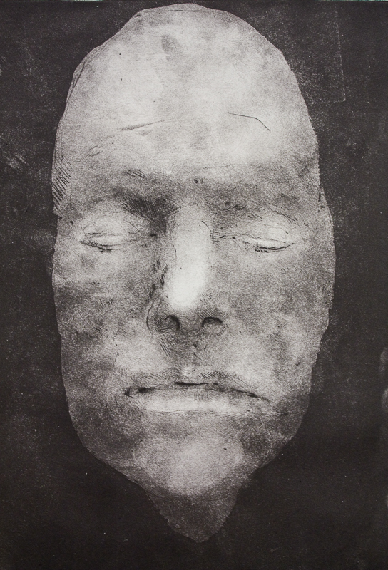 D.B. (Death Mask Series, David Bowie)