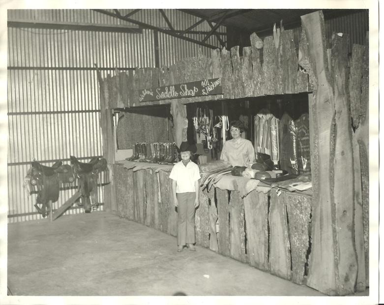 Weldon's Saddle Shop - 1957