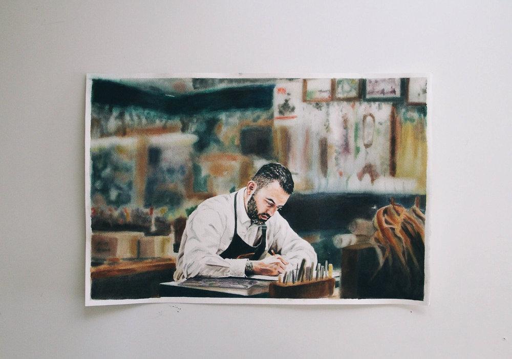 Fine Watercolorist Mandy Cave