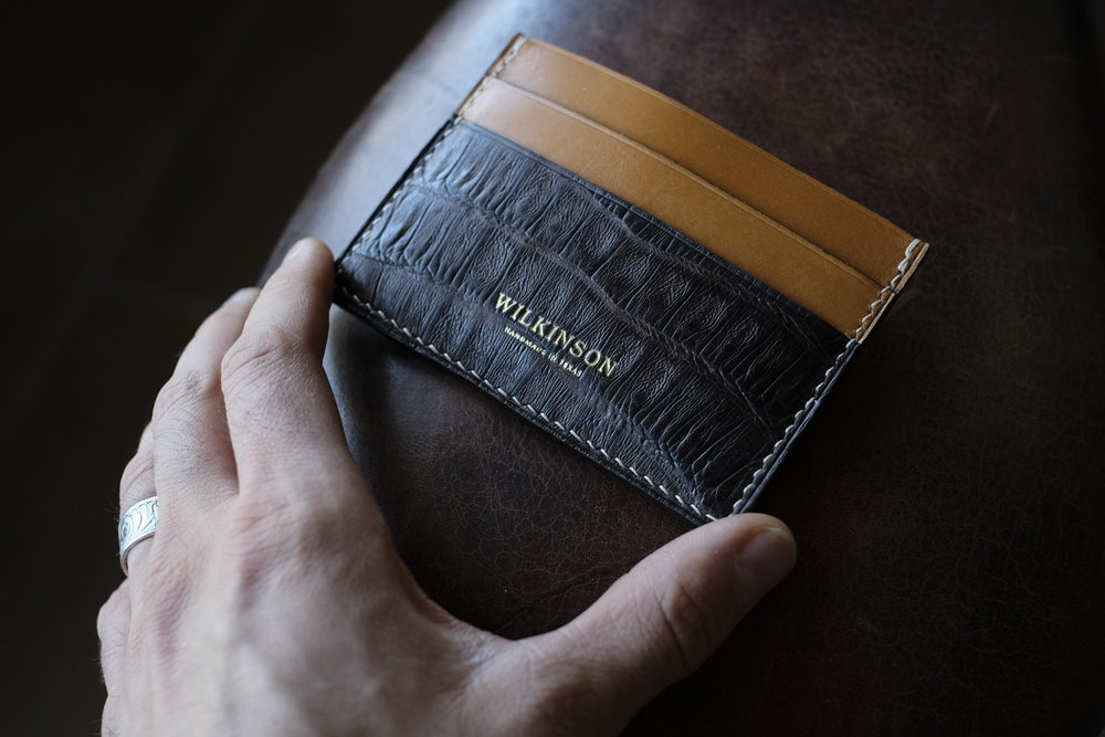 Leather - French Chévre & American Alligator