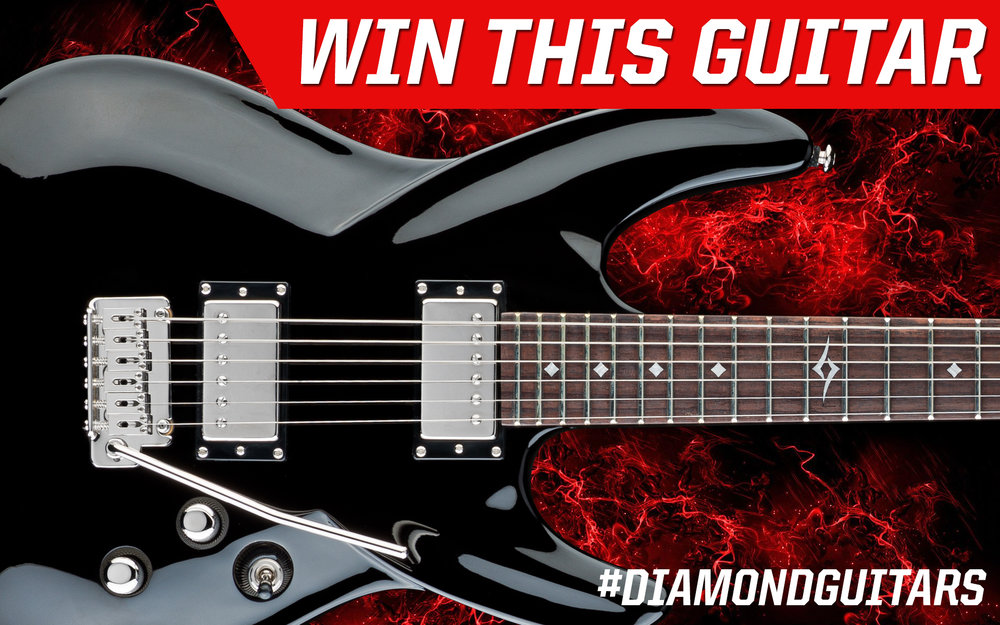 Enter to win this guitar! It only takes 30 second! Diamond Guitars Tag-and-Win Contest!