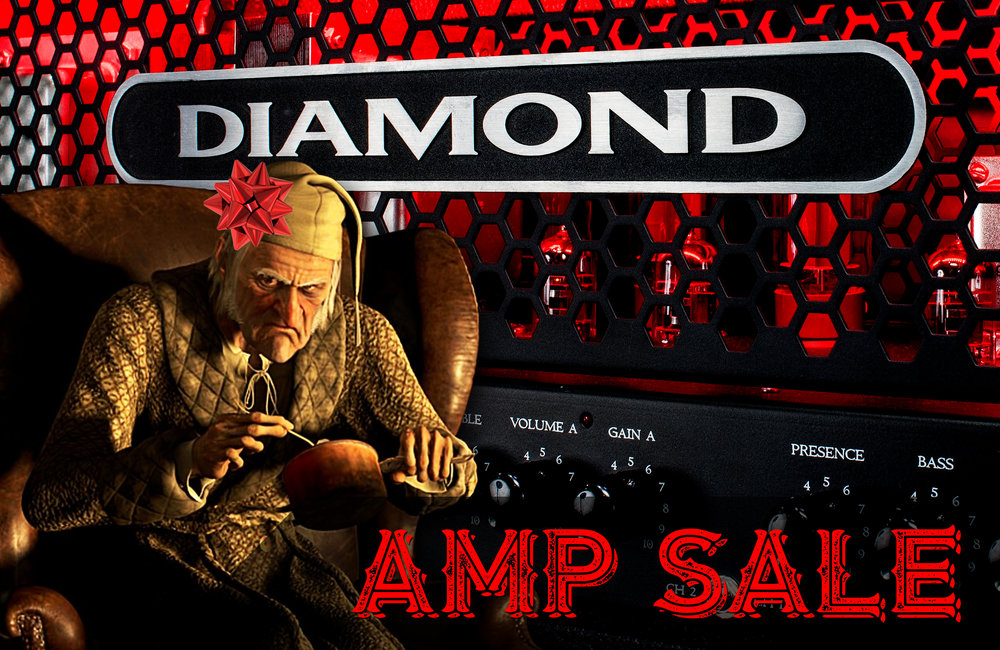 Don't miss our major Diamond Amps Black Friday sale also! Just click on the picture and check it out!