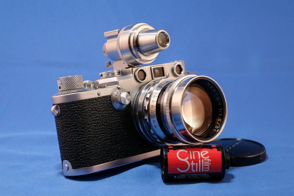 Leica IIIf with Vintage Voigtlander 50mm f1.5 Nokton