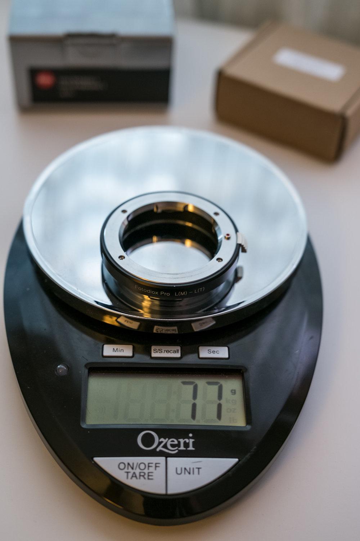 Fotodiox Pro; 77 grams