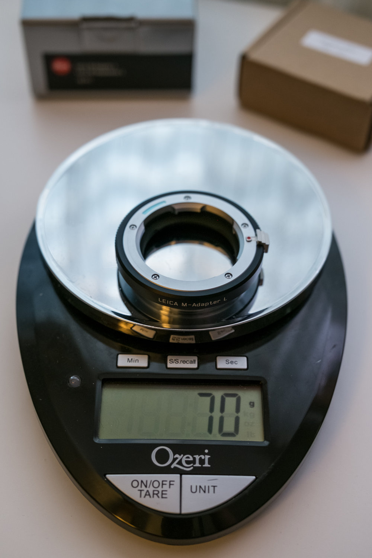 Leica; 70 grams