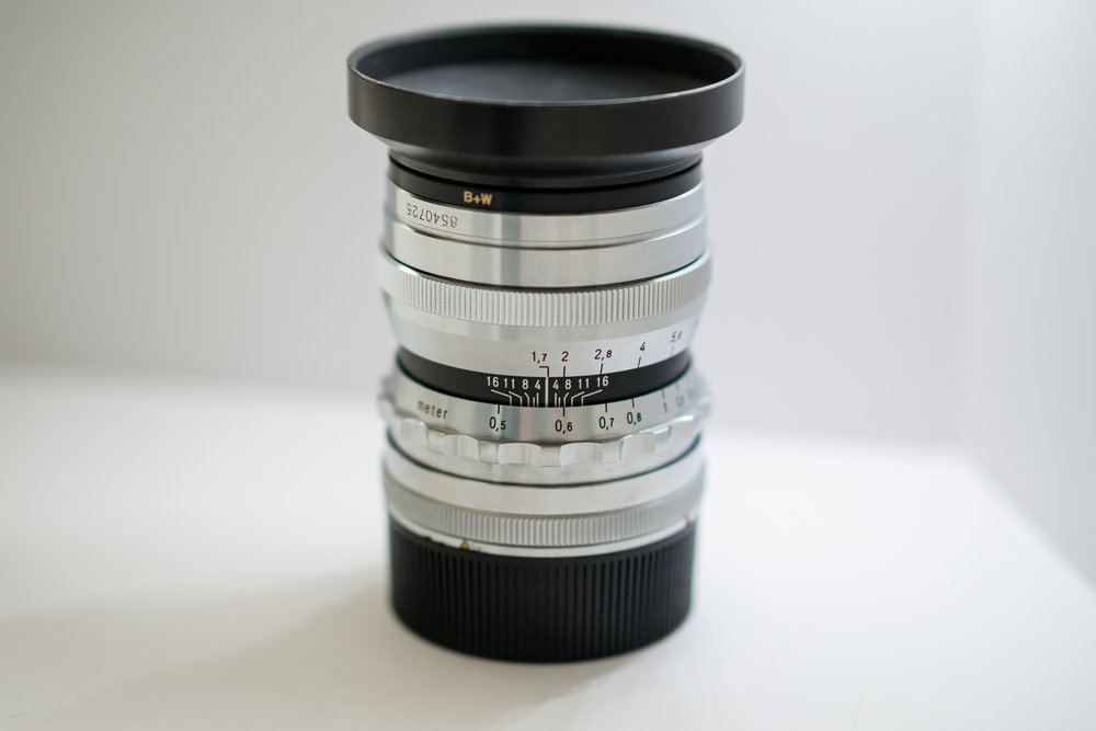 Voigtlander 35mm f1 7 Ultron M-Mount