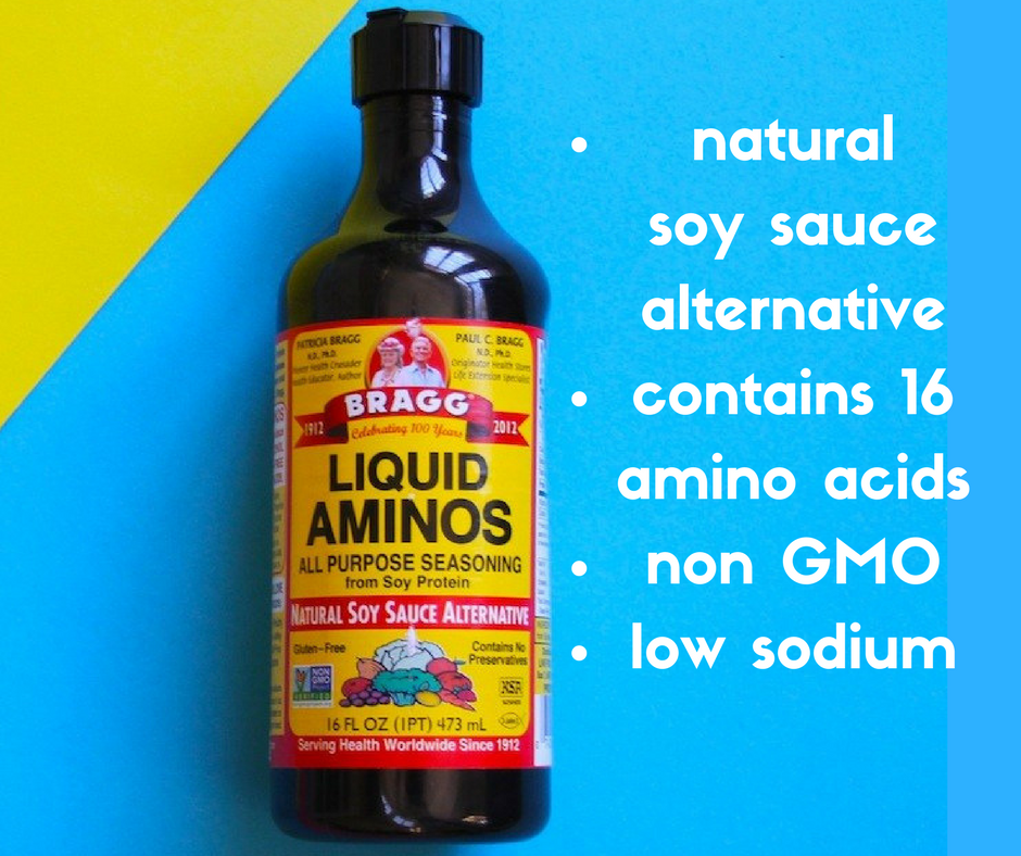Bragg Liquid Aminos Natural Soy Sauce Alternative 16 Fl Oz 473 Ml Health Bestowing Hands