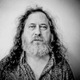 Richard Stallman   Hacker, developer and software freedom activist who has changed the world with his vision of freedom for the digital age.  President and founder of the Free Software Foundation, a nonprofit with a worldwide mission to promote computer user freedom and to defend the rights of all free software users.   Launched the free software movement and started the development of the GNU/Linux operating system (www.gnu.org), which is free software that everyone has the freedom to copy and redistribute, with or without changes. His operating system is used on tens of millions of computers today. Pioneered the concept of copyleft.