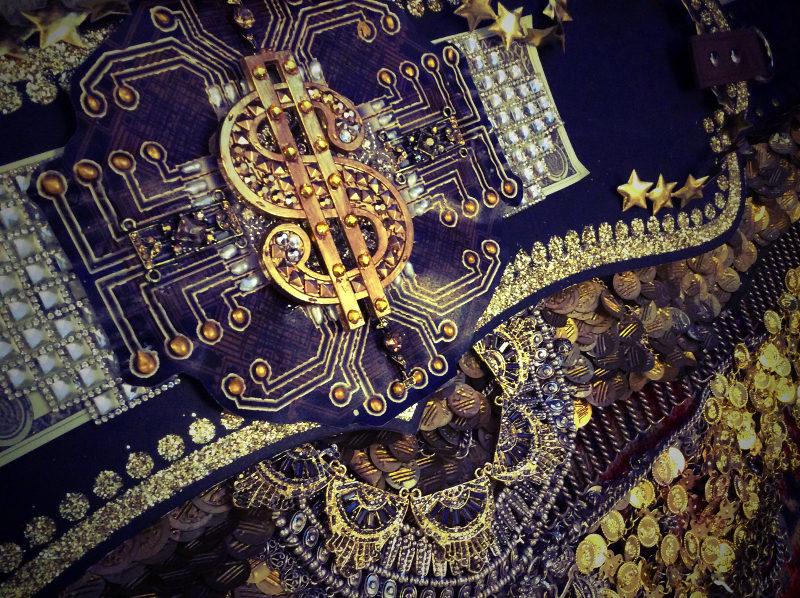Hacktivist Village Money Burning Altar