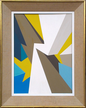 Collision (Yellow/Blue)