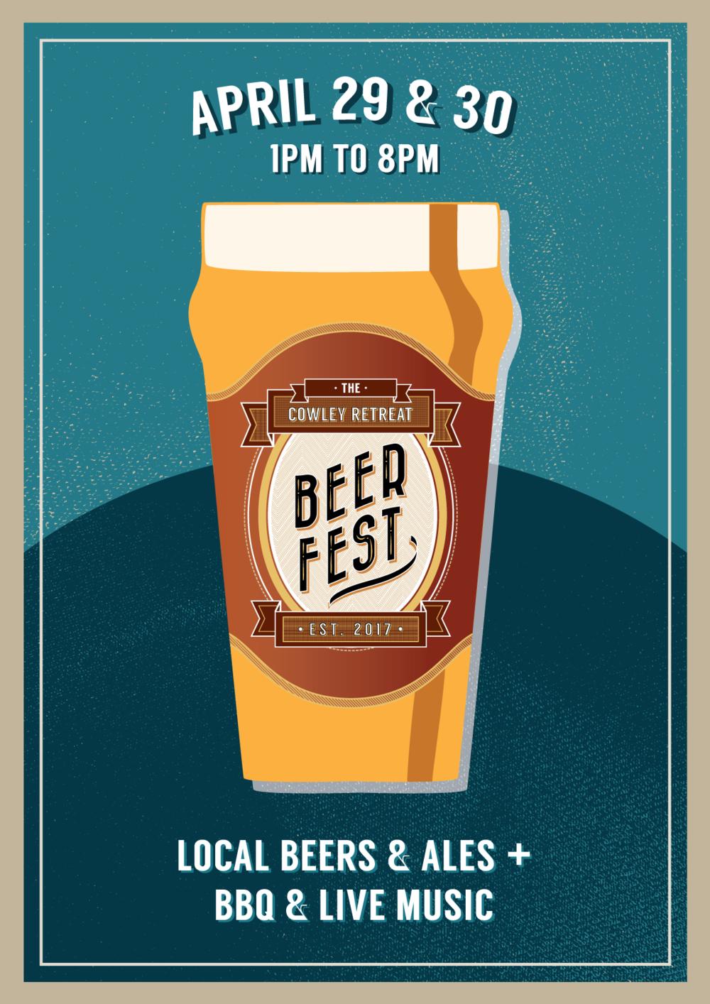 The Cowley Retreat Beer Festival