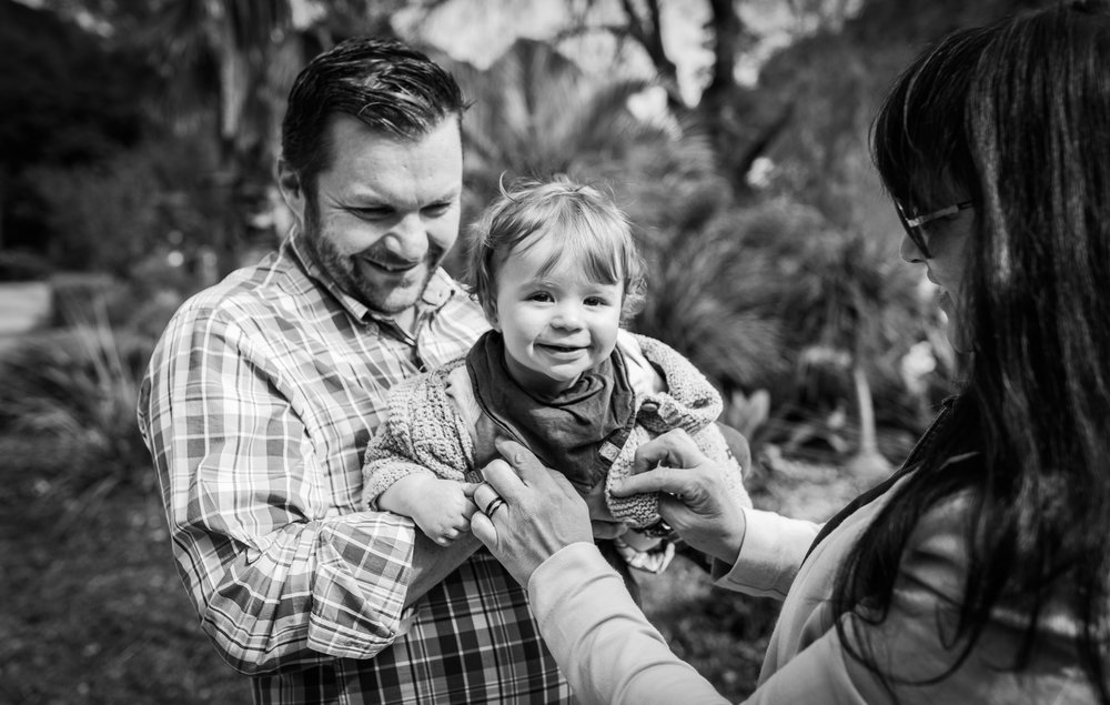 Family Photography Bendigo Botanic Gardens