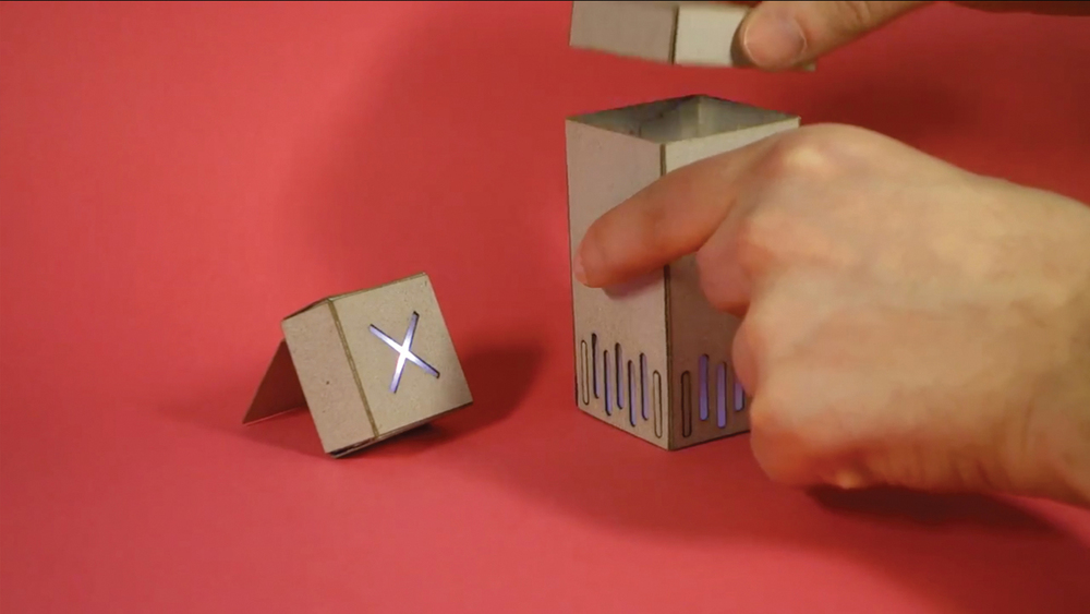 Building quick working Cardboard Prototypes