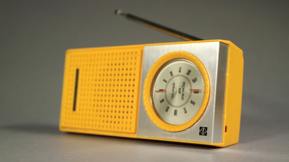 Old Design of a Radio ready to be 3D printed