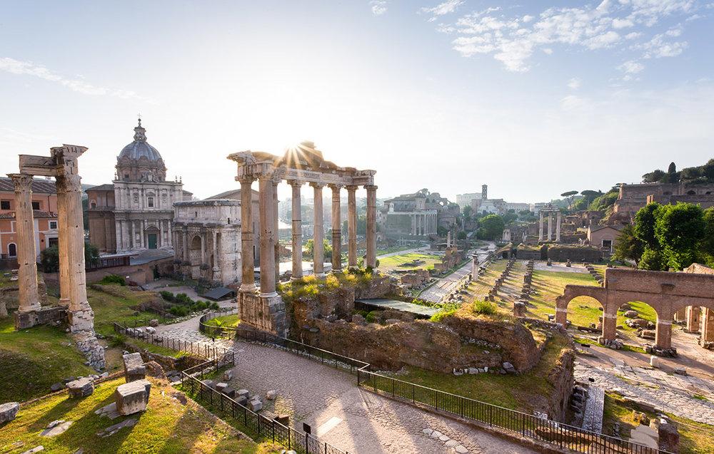 Fora Romana - Rome, italy. (Canon 6D)