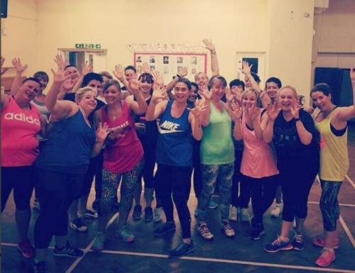 fiddlestickstoni Had fun at my zumba class last night! Repost @zisrich87 #zumba #zumbafitness #zestfitnessberkshire #badwitchworkout #fun