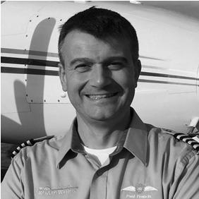 Paul Francis <br> Captain & Chief Pilot