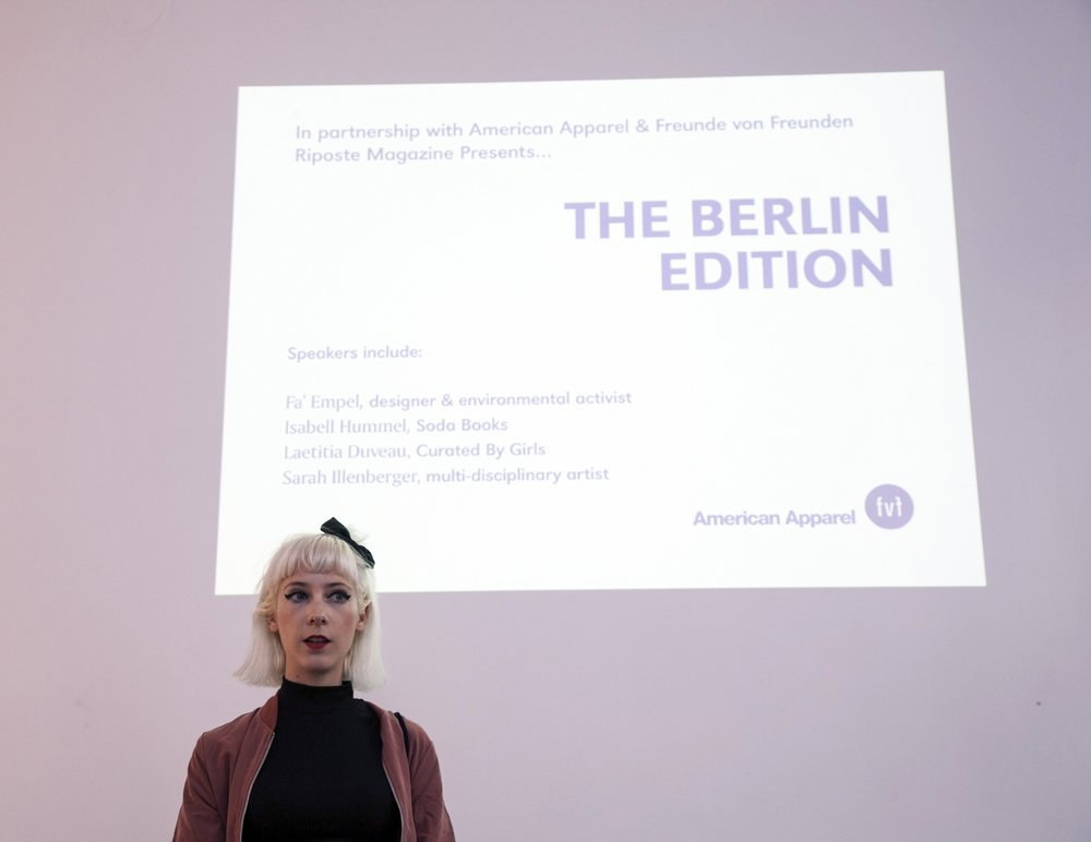EVENT: THE BERLIN EDITION  Recently we headed over to Berlin to meet some of our readers and bring together a collection of our favourite Berlin based women. Have a read through what went down and take a look at the short film we made of all the action.   MORE INFO