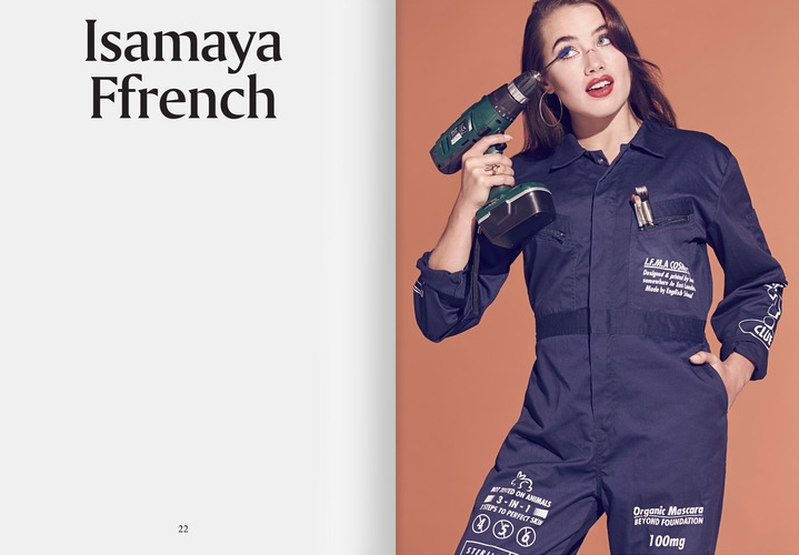 MEETINGS: ISAMAYA FFRENCH  Isamaya Ffrench's work punches you in the face and bolts you out of your lethargic internet scroll.  Meet her in Issue #5  -  Click here to see more.