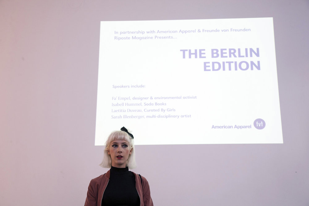 EVENTS: THE BERLIN EDITION Recently we headed over to Berlin to meet some of our readers and bring together a collection of our favourite Berlin based women. Have a read through what went down and take a look at the short film we made of all the action. Read More >
