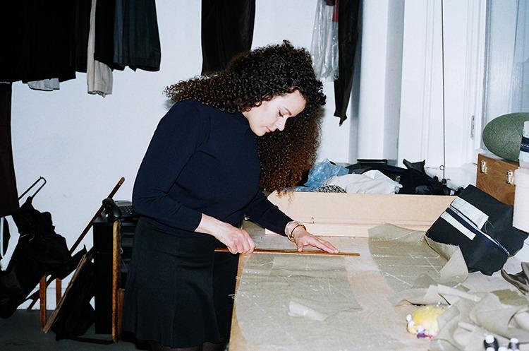 Sunna Johnson, photographed by Francesca Allen