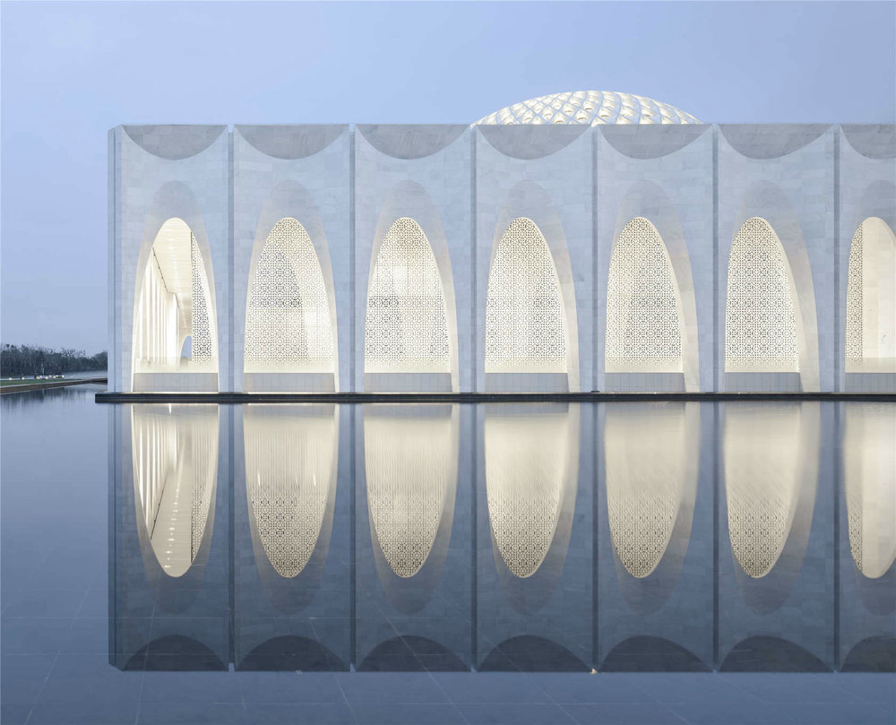 The Dachang Muslim Cultural Center in Dachang County as covered on Zara's blog, Design China.