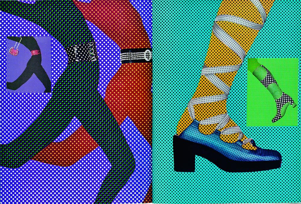 Bea Feitler spreads in Harper's Bazaar.