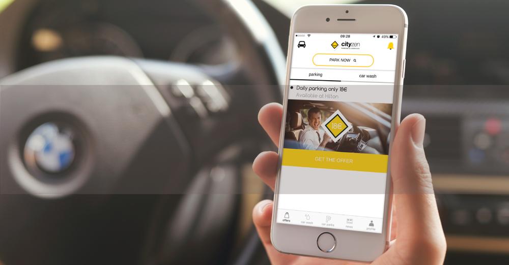 The Cityzen parking app