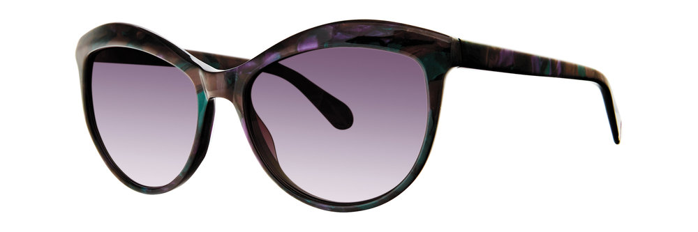 Zac Posen 'Saida' // full acetate cat eye style