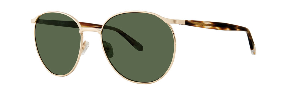 Original Penguin's 'The Moe' // retro round metal style featuring acetate temples
