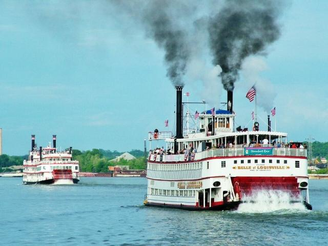 The Great Steamboat Race - April 29thThe great steam boat race is an event that happens the Wednesday before Derby. This race takes place along the Ohio River and is a competition between the Belle of Louisville and Belle of Cincinnati.