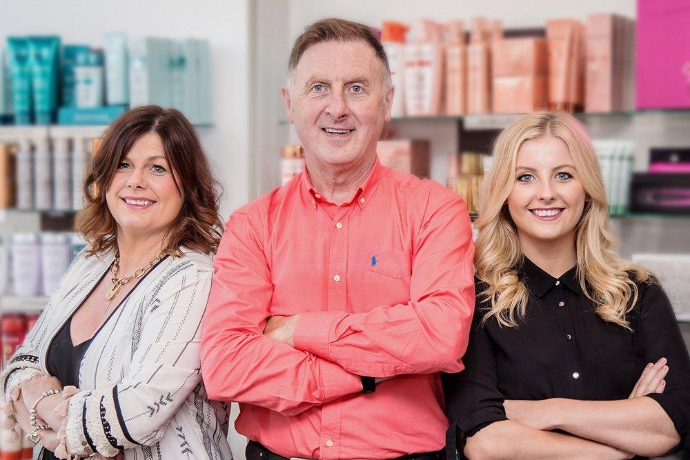 Donna, Paul and Niamh Reardon